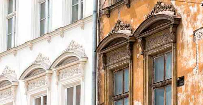 Rehabilitación de edificios y fachadas Granada